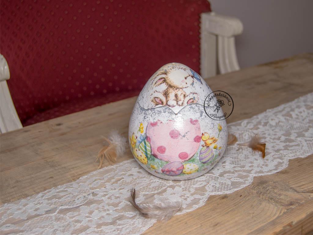 Húsvéti közepes kerámia tojás TO15-TO101